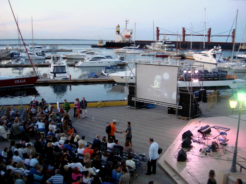 Mute Nights silent film festival in Odessa