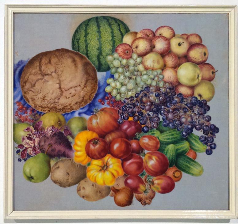 Kateryna Bilokur veggies