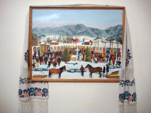Ukrainian naive folk art