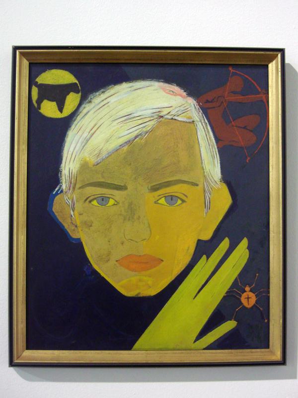 Viktor Zaretsky portrait of Ihor Dychenko, 1964