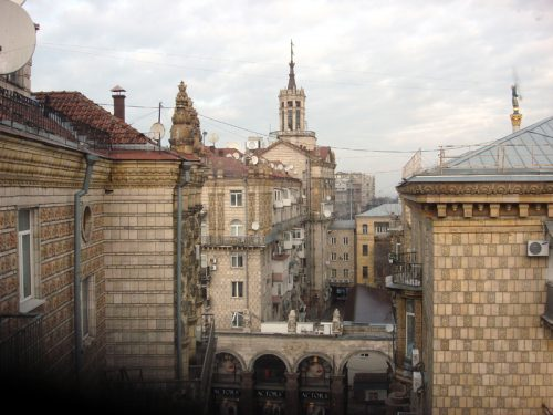 khreschatyk from the window rodovid