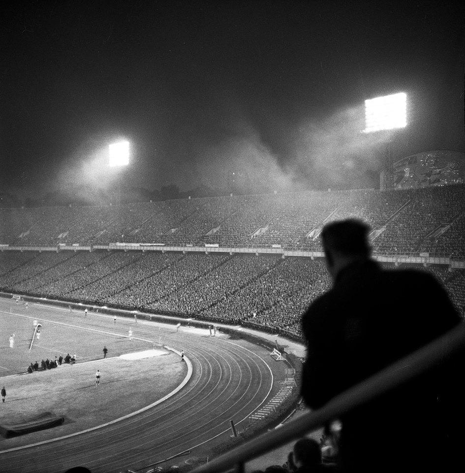 1967, Kyiv central stadium by Iryna Pap - SEE KYIV