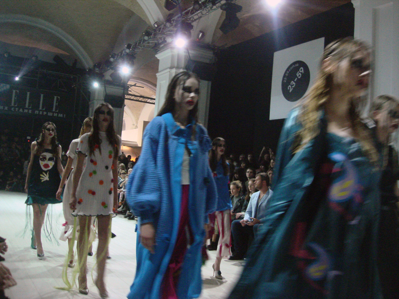 ukrainian fashion week and mercedes-benz kiev fashion days
