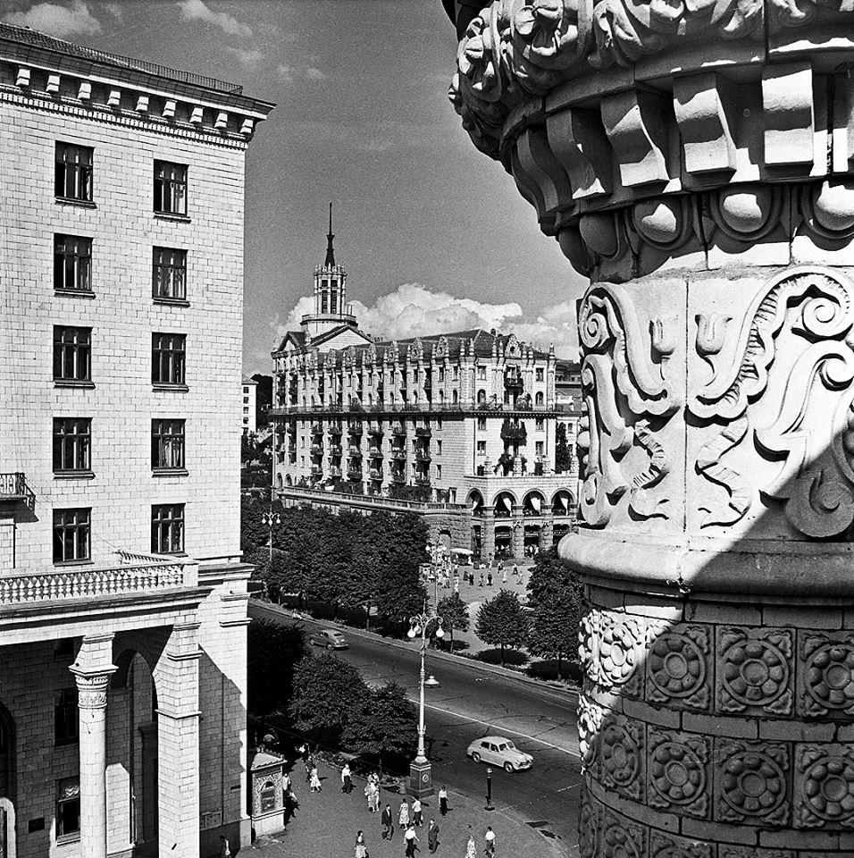 1965, Khreshchatyk by Irina Pap - SEE KYIV
