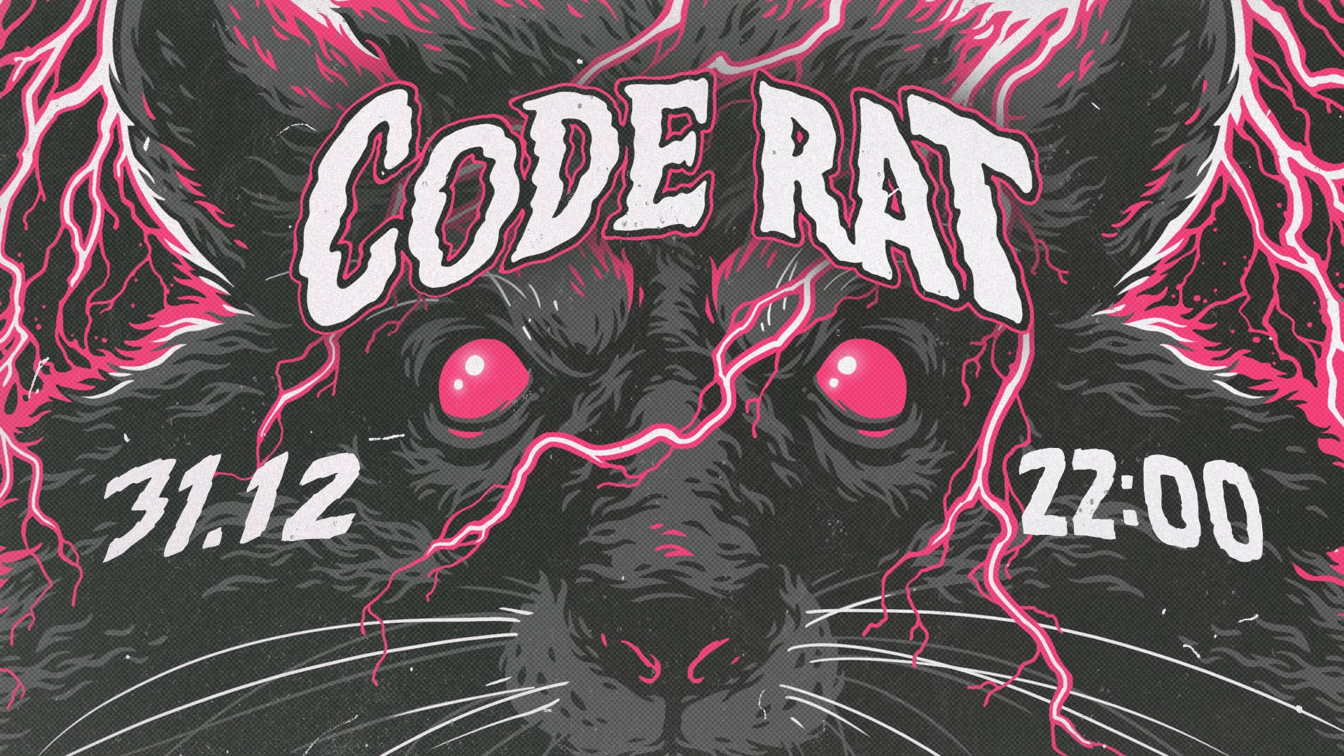 Code RAT party new year kyiv