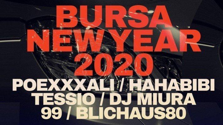 New Year 2020 at BURSA - See Kyiv