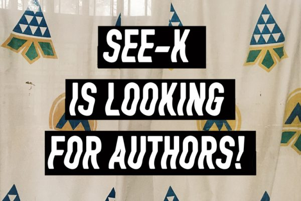 SEE-K is looking for authors