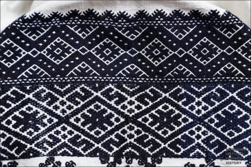 Traditional Ukrainian embroidery, photo courtesy of Ukrainian Institute of Fashion History