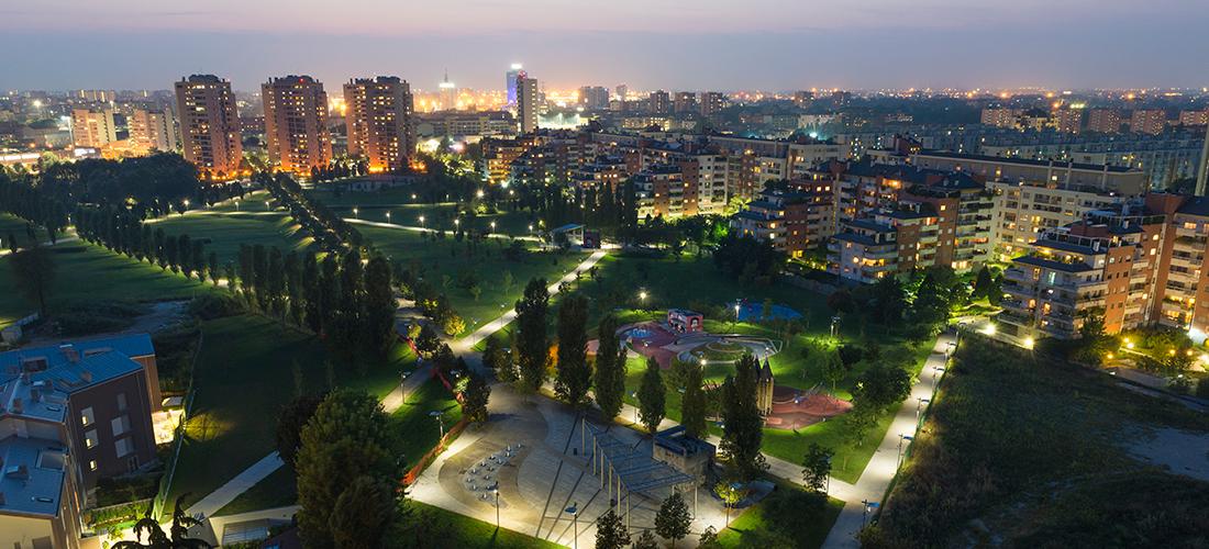 Piazza Est, Parco Franco Verga, Milan
